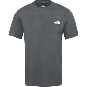 The North Face Reaxion Ampere T-shirt manches courtes Homme, tnf dark grey heather/high rise grey